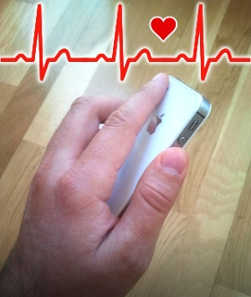 Measuring heart rate with a smartphone camera - uavster